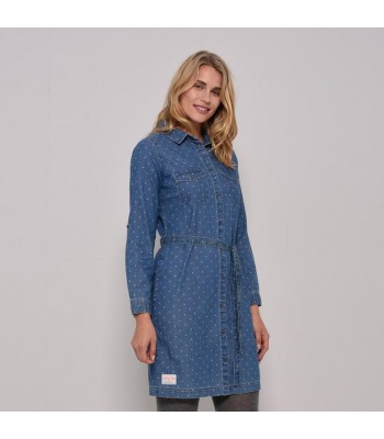 Brakeburn Printed Shirt Dress