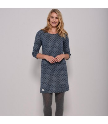 Brakeburn Leaf Cotton Dress