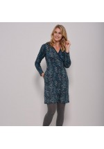 Brakeburn Trailing Leaf Wrap Dress