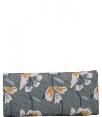 Brakeburn Large Floral Fold Over Purse