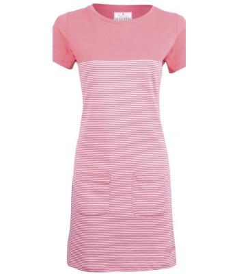 Brakeburn Coral Tunic Dress