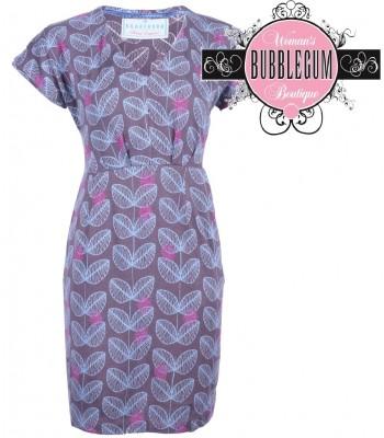 Brakeburn Leaf Tunic Dress