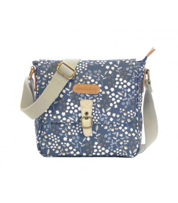Brakeburn Floral Cross Body Bag (Navy)