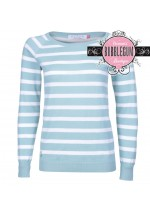 Brakeburn Stripe Knitted Jumper (Green)