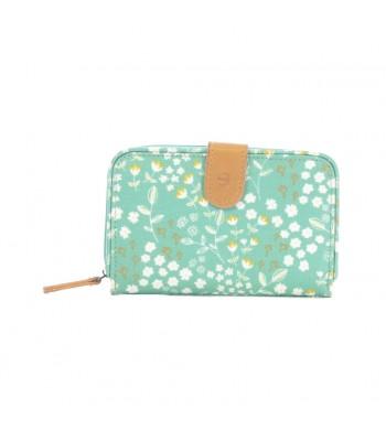 Brakeburn Floral Wallet (Green)