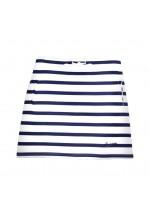 Brakeburn Stripe Skirt (Navy & White)