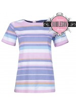 Brakeburn Multi Stripe Woven Top (Multi)