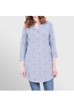 Brakeburn Anchor Dobby Shirt Dress