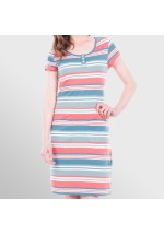 Brakeburn Multi Stripe Pocket Dress
