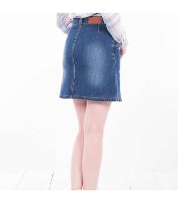 Brakeburn Denim Button Up Skirt