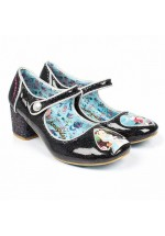 Irregular Choice Tick Tock (black)