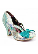 Irregular Choice Curtain Call (Blue / Green)