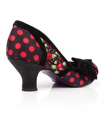 Poetic Licence for Irregular Choice Shake It (Black/Red)