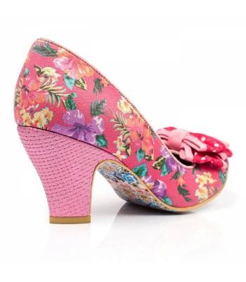 Irregular Choice Ban Joe (Pink Floral)