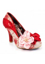 Irregular Choice Peach Melba (Red)