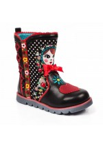 Irregular Choice Kids' Mini Svetlana (Black / Multi)