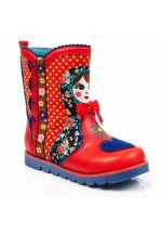 Irregular Choice Kids' Mini Svetlana (Red / Multi)