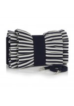 Ruby Shoo Nassau Bag (Navy Stripe)