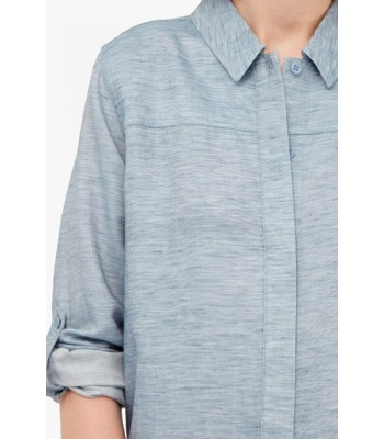 French Connection Tencel Chambray Shirt