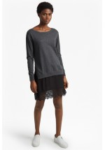 French Connection Melba Knits Long Sleeved Jumper Dress