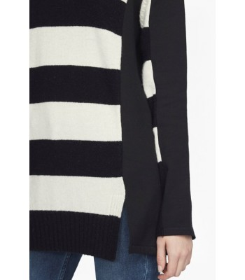 French Connection Ollie Striped Knit Crew Neck Jumper