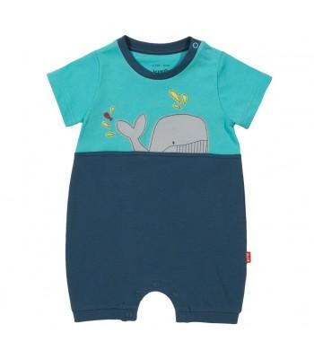 Kite Boy's Spouting Whale Romper