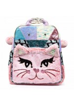 Irregular Choice Jem Cat Backpack (Pink)