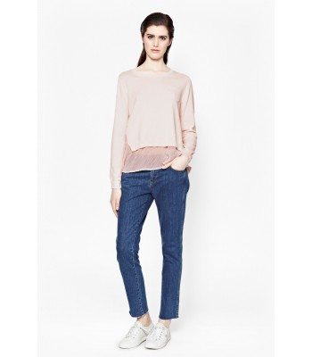 French Connection Cara Chiffon Knits Jumper