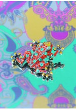 Powder Frog Brooch