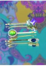 Powder Sapphire/Emerald/Amethyst Slides