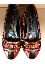 Irregular Choice Carnival Circus (Black Multi) - Limited Edition !!!