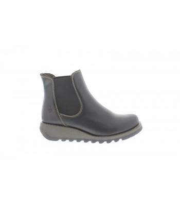 Fly London Salv Chelsea Boot (Black)