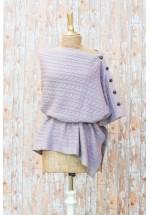 Powder Rebecca Poncho (Soft Lilac)
