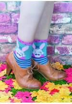 Powder Ankle Bunny Socks