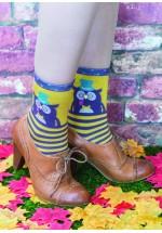 Powder Ankle Owl Socks