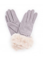 Powder Tamara Wool Gloves