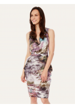 Uttam Boutique Maple Tree Print Tulip Dress