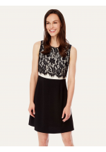 Uttam Boutique Lace Top Party Dress