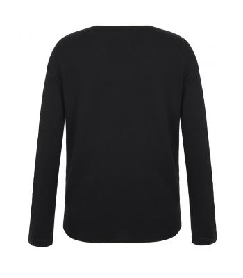 Uttam Boutique Embellished Crew Neck Jumper (black)