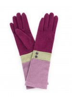 Powder Vivienne Wool Gloves (damson/pea/lavender)