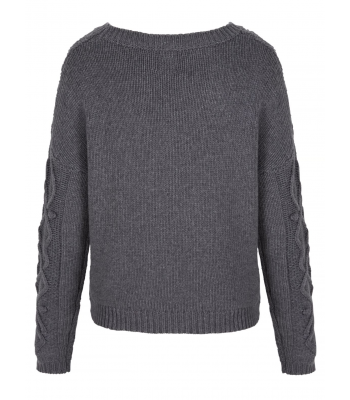 Yumi Cable Knit Jumper