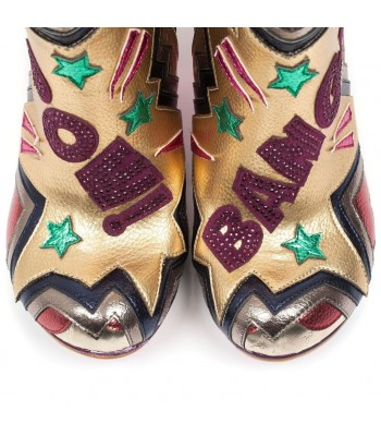 Irregular Choice Bang Pow (Gold)