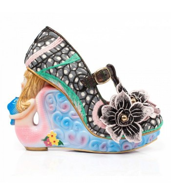 Irregular Choice Aquata (Black) Mermaid Shoes