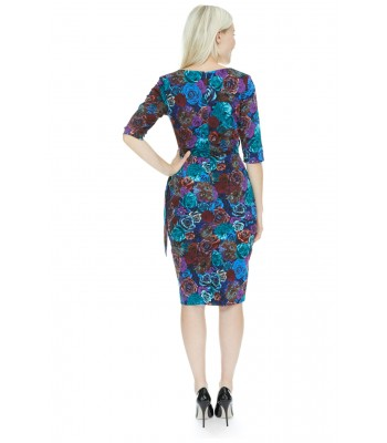 Pretty Dress Company Aspen 3/4 Sleeve Pencil Dress