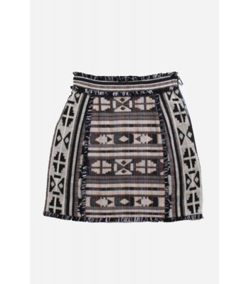 French Connection Pyramid Tile Mini Skirt