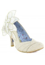 Irregular Choice Baby Love Wedding Shoes Cream