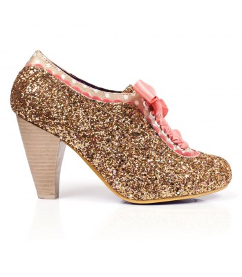 Poetic Licence for Irregular Choice Backlash (Rose Gold/Pink)
