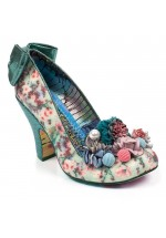 Irregular Choice Be Yourself (Cream / Green)