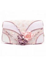 Irregular Choice Peach Melba Clutch