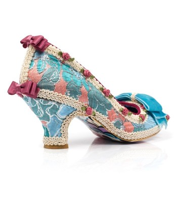 Irregular Choice Bish Bash Bow (Turquoise Blue)